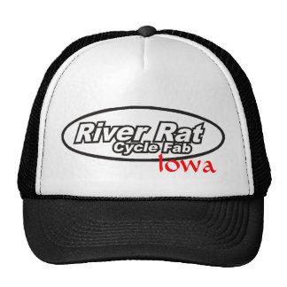 River Rat Cycle Fab Iowa Trucker Hat