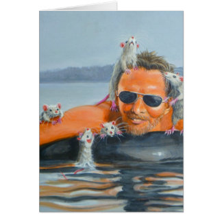 River Rats with man card