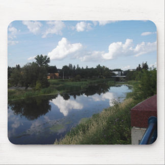 River Reflection Mouse Pad