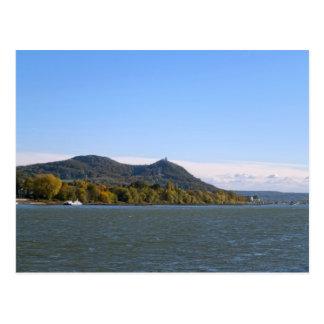 River Rhein Postcard