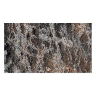 River Rock Textured Nature Stone Business Cards