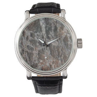 River Rock Textured Nature Stone Watch