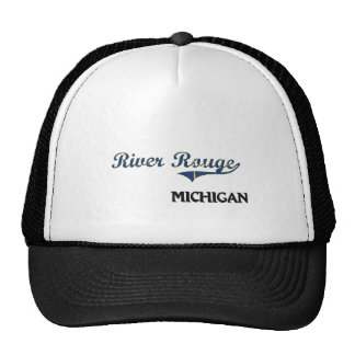 River Rouge Michigan City Classic Mesh Hat