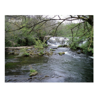 River Rye, Peak District, Derbyshire, England. Postcard