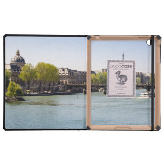 River Seine Eiffel Tower View in Paris, France Cover For iPad