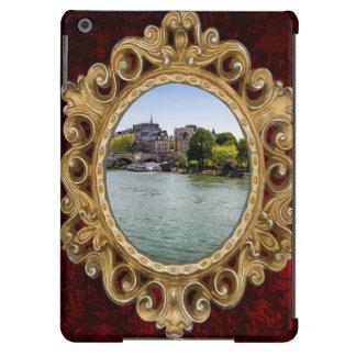 River Seine Ile De La Cite in Paris Photograph iPad Air Cases