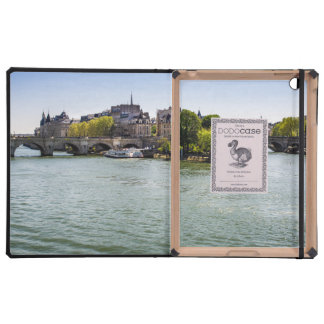 River Seine Ile De La Cite in Paris Photograph Cases For iPad