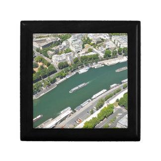 River Seine Small Square Gift Box