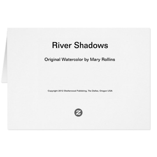 River Shadows Card