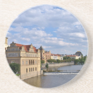 River side of Prague, Republic Czech, Coaster