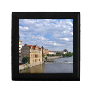 River side of Prague, Republic Czech, Gift Box