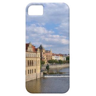 River side of Prague, Republic Czech, iPhone 5 Covers
