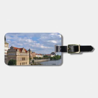 River side of Prague, Republic Czech, Luggage Tag