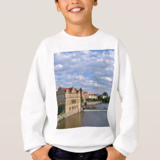River side of Prague, Republic Czech, Sweatshirt