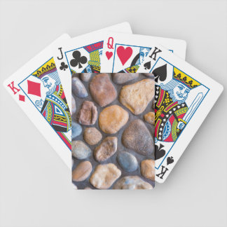 River Stone Rock Wall Background Bicycle Playing Cards