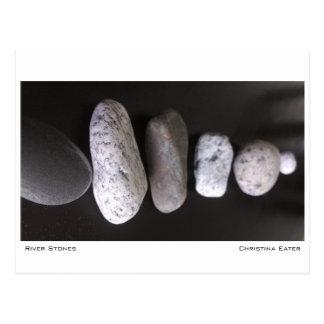 River Stones Postcard