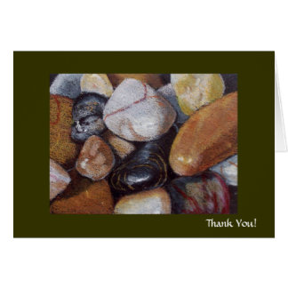 RIVER STONES THANK YOU CARD