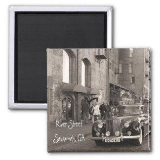 River Street, Savannah, GA Magnet