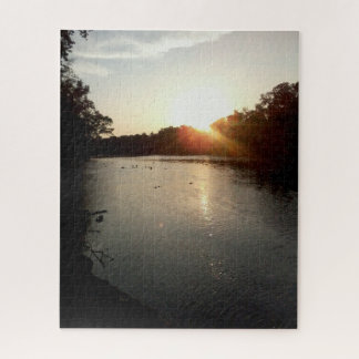 River Sunset Jigsaw Puzzle