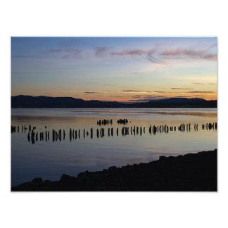 River Sunset Photo