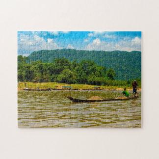 River Tamron Bangladesh. Jigsaw Puzzle