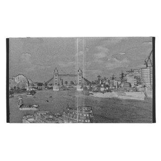 River Thames Art iPad Folio Covers