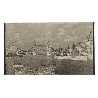 River Thames Art iPad Folio Cases