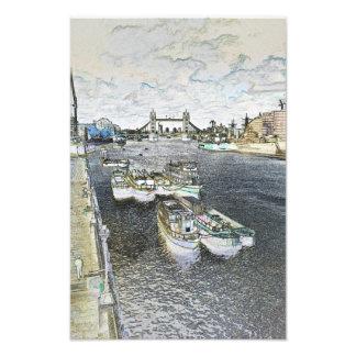 River Thames Art Photo Print
