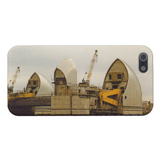 River Thames Barrier London 1980s iPhone 5/5S Case