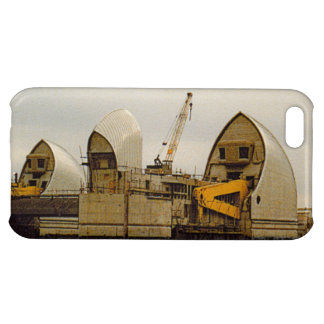 River Thames Barrier London 1980s iPhone 5C Case