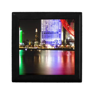 River Thames in Colour at night Gift Box