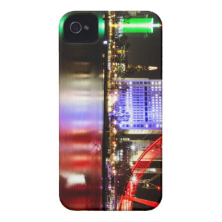River Thames in Colour at night iPhone 4 Covers