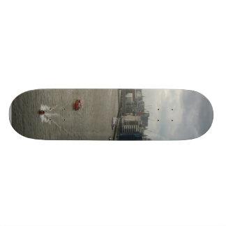 River Thames In London England Skateboard Deck