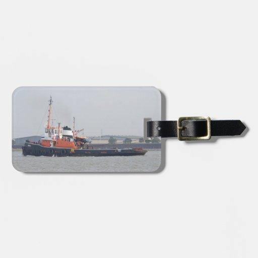 River Thames Tug Luggage Tags