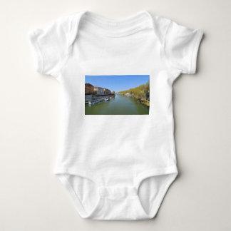 River Tiber in Rome, Italy Baby Bodysuit