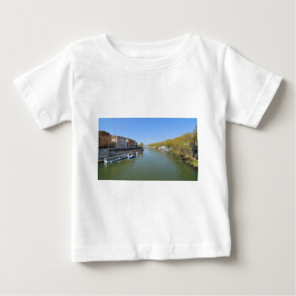 River Tiber in Rome, Italy Baby T-Shirt
