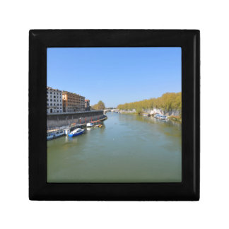 River Tiber in Rome, Italy Gift Box