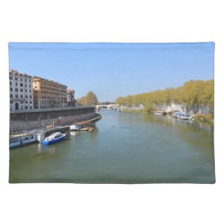 River Tiber in Rome, Italy Placemat