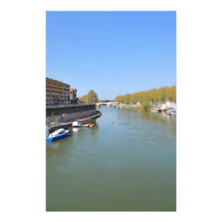 River Tiber in Rome, Italy Stationery