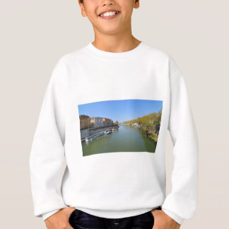River Tiber in Rome, Italy Sweatshirt