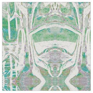 River Tree Fabric - misty morning