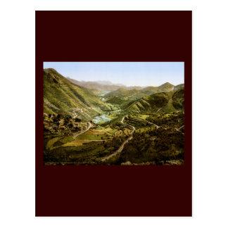 River valley Montenegro Postcard