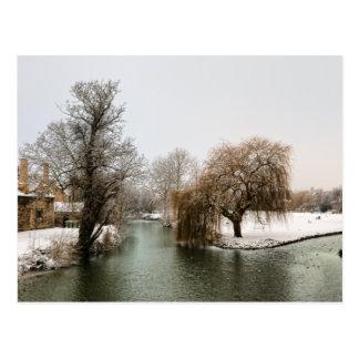River Welland Winter Postcard