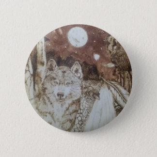 River Wolves 6 Cm Round Badge