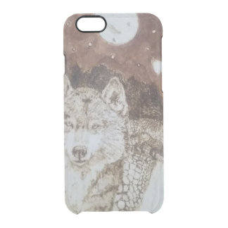 River Wolves Clear iPhone 6/6S Case