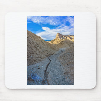 Riverbed view of Zabriskie Point Mouse Pad