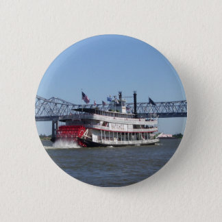 Riverboat 6 Cm Round Badge
