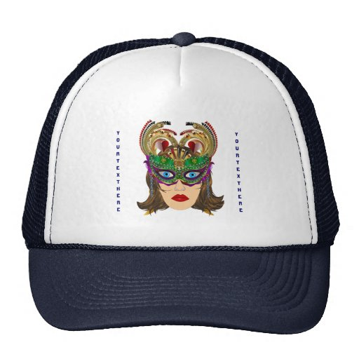 Riverboat Casino Queen Please View Artist Comments Mesh Hat