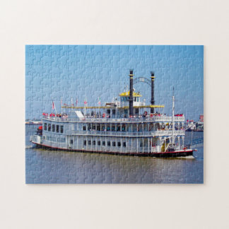 Riverboat New Orleans Louisiana. Jigsaw Puzzle