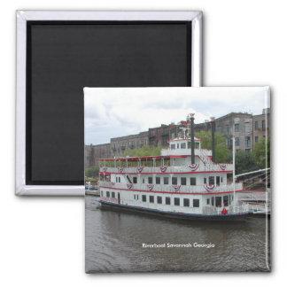 Riverboat Savannah Georgia Magnet